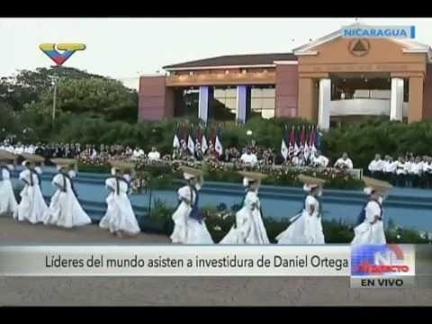 Toma de posesion e Investidura de Daniel Ortega en 2017, evento completo