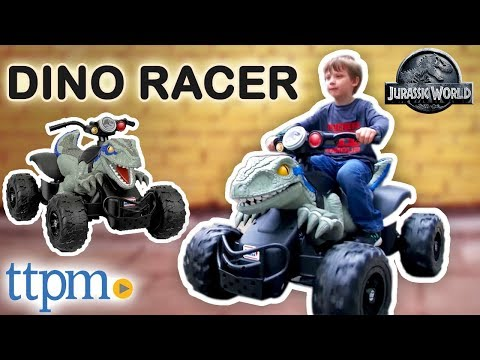 Power Wheels Jurassic World Dino Racer Ride-On [REVIEW] | Fisher-Price