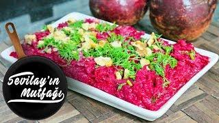 Kırmızı Pancar Salatası Nasıl Yapılır? | Yoğurtlu  Kırmızı Pancar Salatası Tarifi