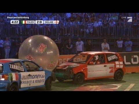Download 1. Halbfinale: Italien - England - TV total Autoball