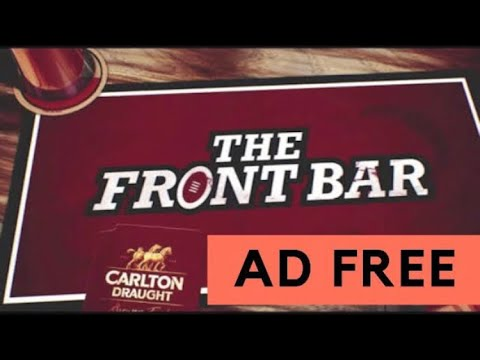 THE FRONT BAR FINALS WEEK 3 AD FREE AFL 20/9/2018