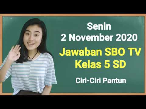 Kunci Jawaban SBO TV Kelas 5 SD Senin 2…