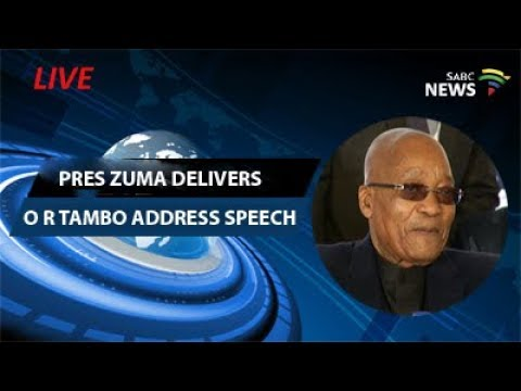 Pres Zuma delivers O R Tambo keynote address, Kagiso: 05 Nov 017