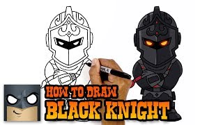 How to Draw Fortnite | Black Knight
