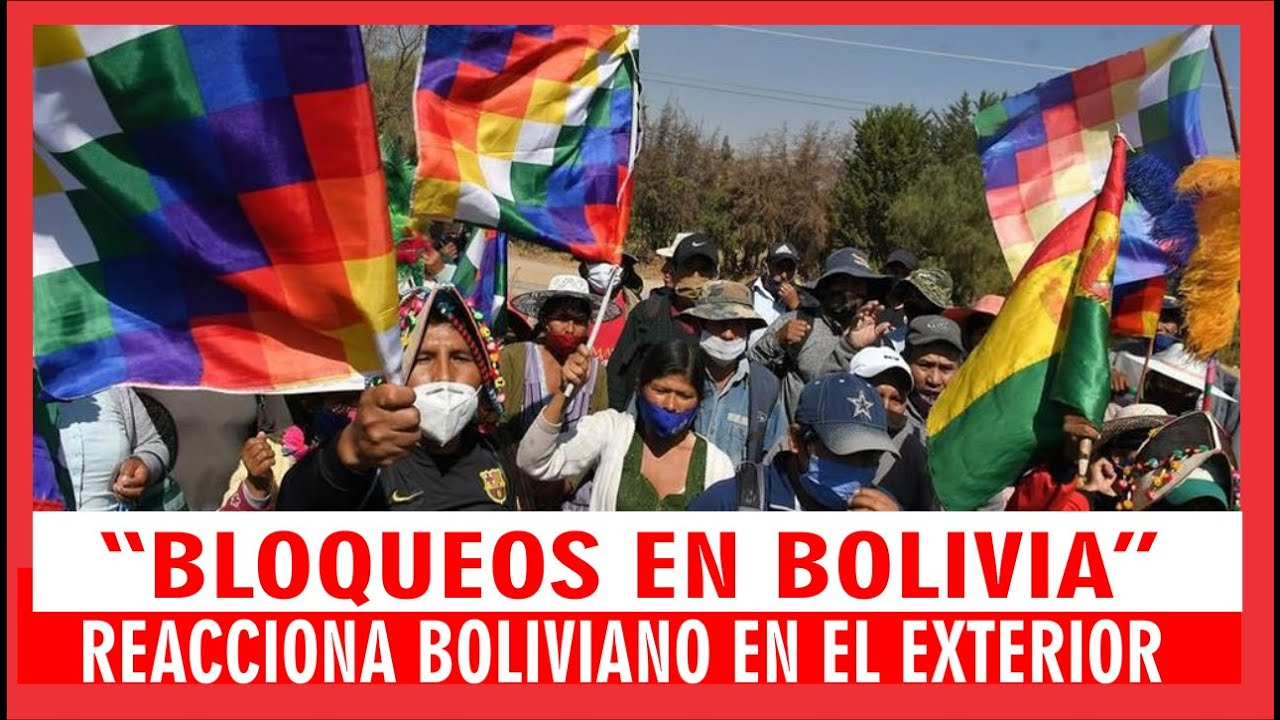 Bolivia movilizada / Miradas de los bolivianos desde el Exterior