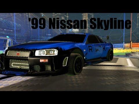 Skyline GTR IS NUTS IN ROCKET LEAGUE