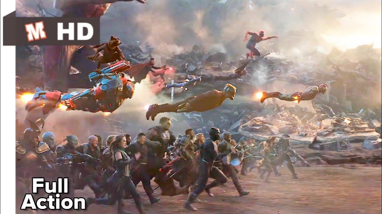 Download Avengers EndGame Hindi Final Battle
