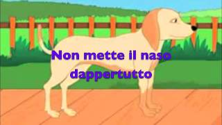 Tommaso il cane ficcanaso - Canzoni e video per bambini