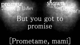 Promise - Romeo Santos ft. Usher (English Version [Lyrics On Screen])