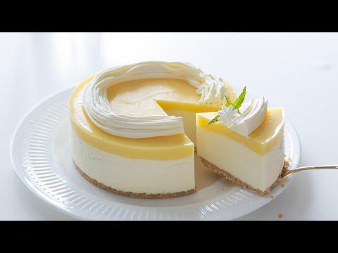 15 minute lemon cheesecake