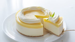 レモンのレアチーズケーキの作り方