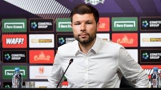 Пресс-конференция после матча «Краснодар» - «Енисей»