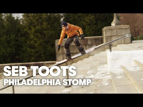 "Seb Toutant Slides Kink Rails on Iconic ""Rocky"" Stairs in Philadelphia"