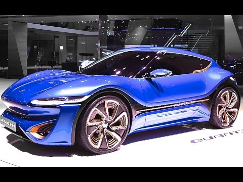 Quantino Electric Supercar Seater Commercial Electric Sports - All sports cars 2016