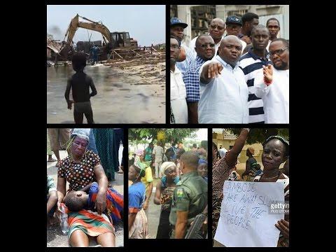 .@AkinwunmiAmbode defied Court order to demolish #OtodoGbame  - @meganschapman