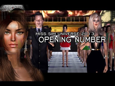 Miss Sim Universe 2013 - Opening Number