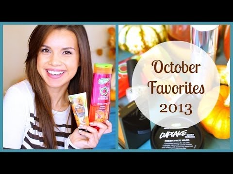 October Favorites! ♥ 2013 thumbnail