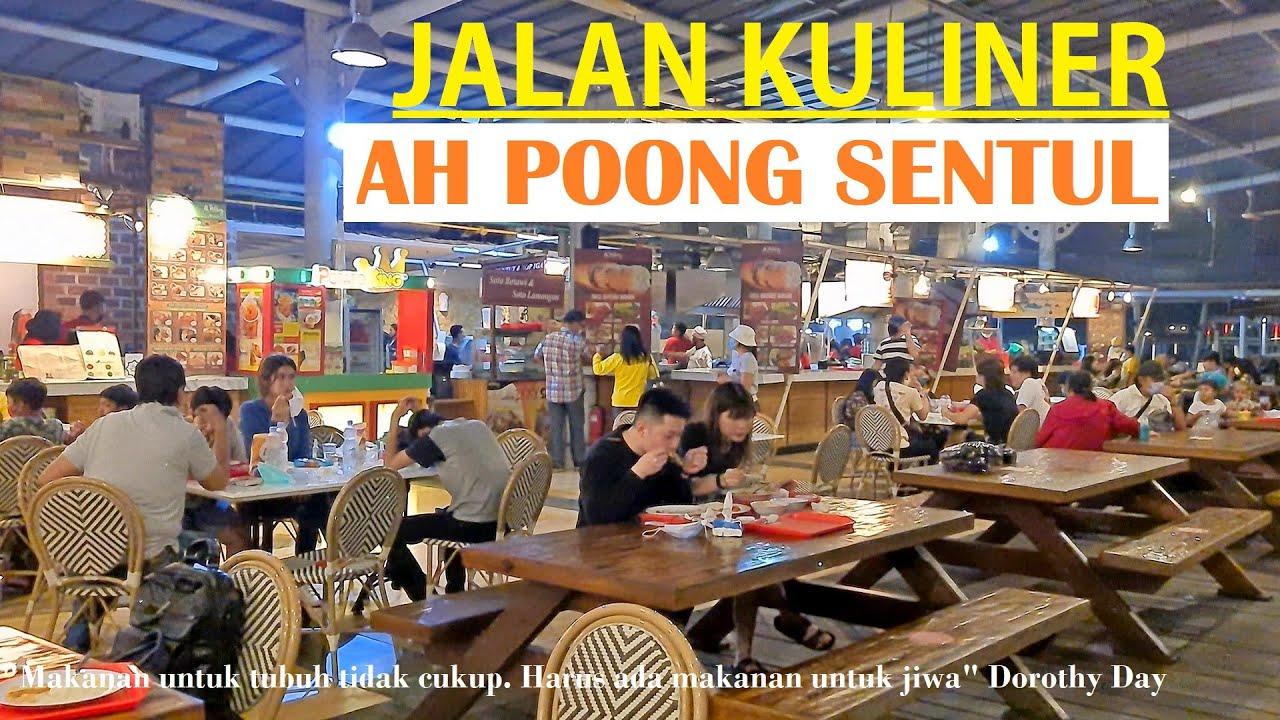 Night Culinary Walk ~ Ah Poong Sentul City ⁴ᴷ⁶⁰ ~ Ecoart Park - Floating Market ~ Bogor ~ West Java