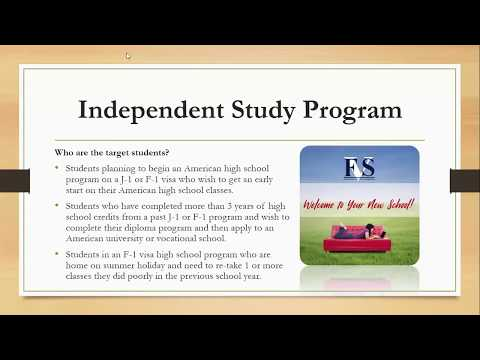 American High School Diploma and Independent Study courses