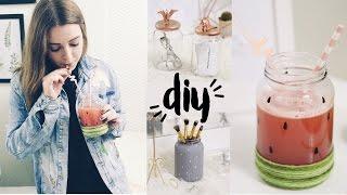 diy ideias para potes de vidromason jar pinterest inspired