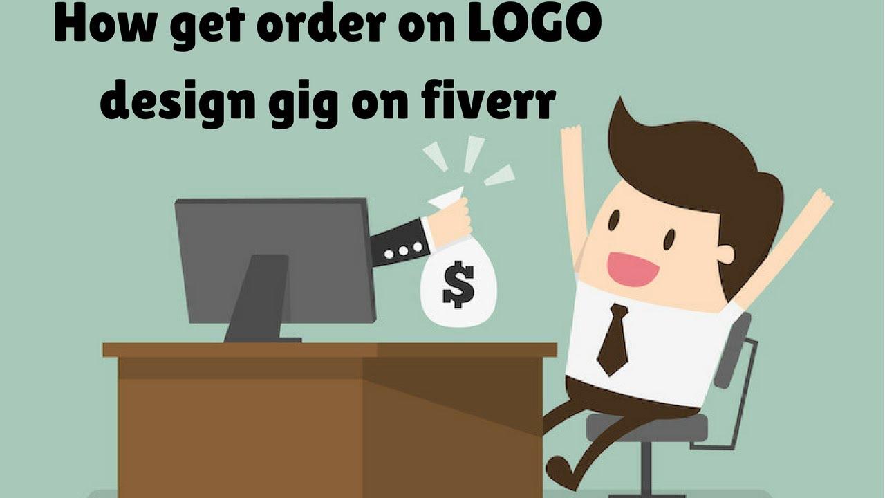 Making money online logo design