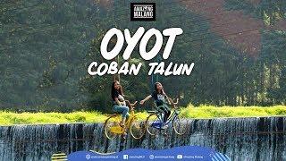 Nyobain Wahana Oyot di Coban Talun, kota Batu