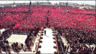 Mustafa Yıldızdoğan Büyük İstanbul Yenikapı Miting Konseri  Ölürüm Türkiyem