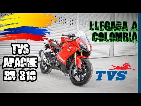 NUEVA TVS APACHE RR 310 LLEGARÁ A COLOMBIA - FICHA TÉCNICA LANZAMIENTO