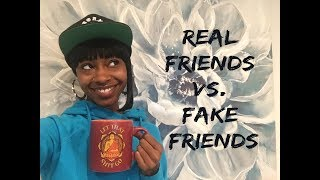 The Difference Between Real & Fake Friends!!! (Healthy Relationships for Millennial Women)