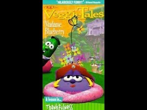 VeggieTales Mademe Blueberry 1998