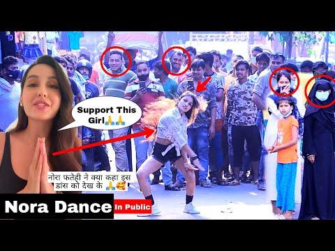 Bollywood Dance In Public | Nora Fatehi Reaction | Gone Fire 🔥 | Prank In Public | Razmiya