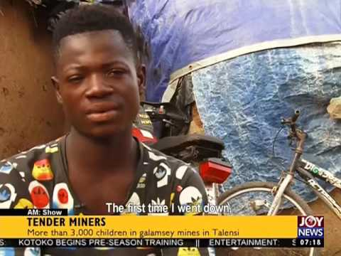 Tender Miners - AM Show on Joy News (25-10-16)