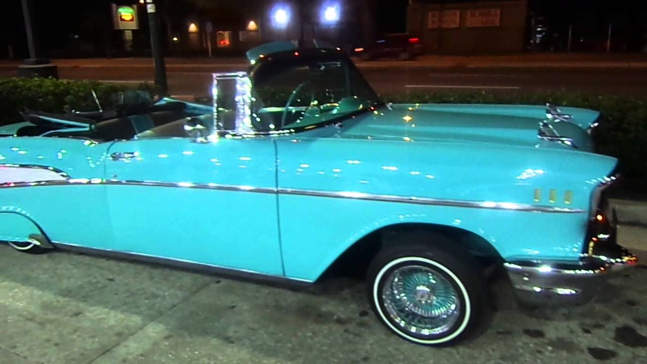 Convertible 1956 chevy bel air convertible : 1957 Bel Air Lowrider Posted Up Classic Weekend. 2013 Orlando ...