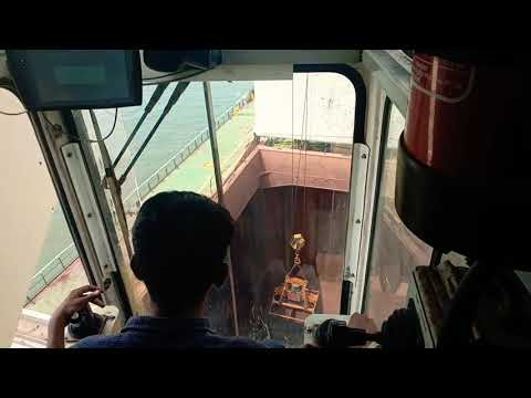 how  to operate crane Working on offshore crane (Macgagor❤)(crane operator)
