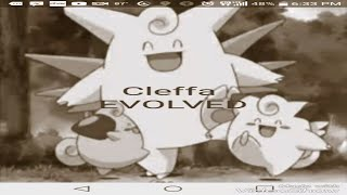 Cleffa evolution song