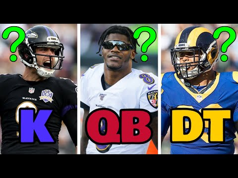 Who Is The BEST Player At Every Position In The NFL Right Now? (2020)