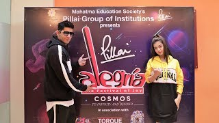 Divya Agarwal and Varun Sood talk about Pillai College Fest Alegria