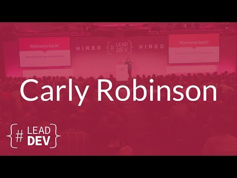 Mentoring Junior Engineers @ Slack HQ – Carly Robinson | The Lead Developer UK 2017