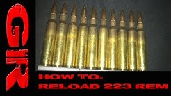 How To #6: Reload 223 Remington/5.56x45mm NATO