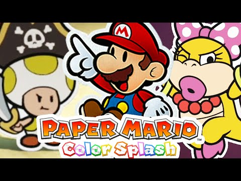 🔴 WENDY! Paper Mario: Color Splash - Gameplay Walkthrough Part 5 (Nintendo WiiU) from YouTube · Duration:  3 hours 3 minutes 13 seconds