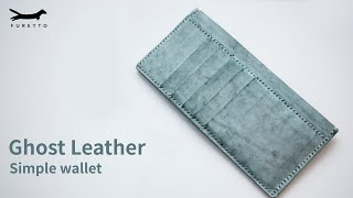 [Leather Craft]Ghost leather s…