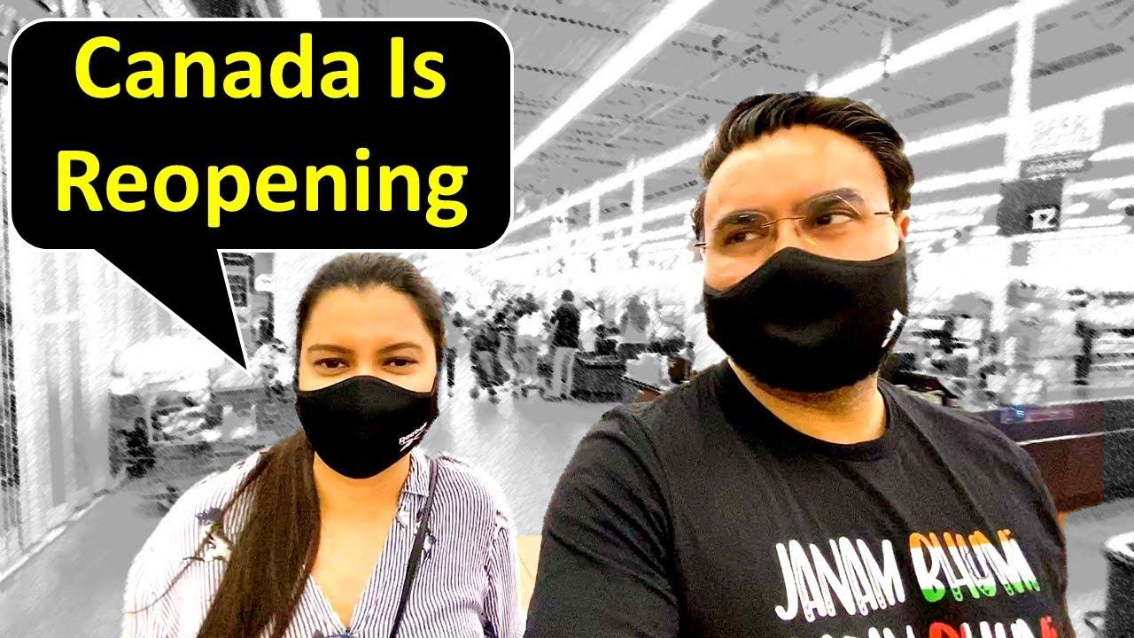 Canada Mai Travel Karne Se Pehle.....| Canada Couple Vlogs