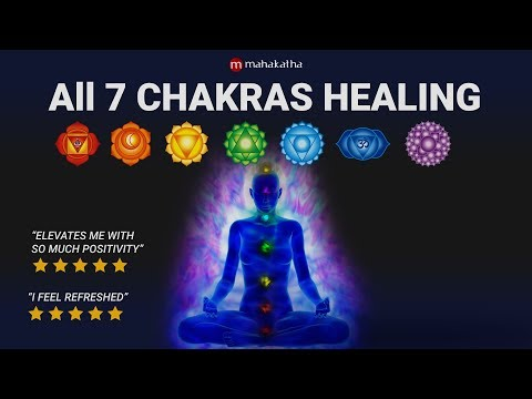 ALL 7 Chakra Healing Chants | Seed Mantra Meditation Music | Aura Cleansing
