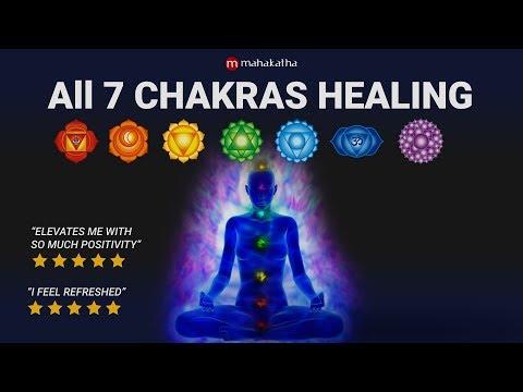 ALL 7 Chakra Healing Chants | Seed Mantra Meditation Music | Aura Cleansing