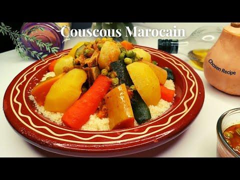 couscous-semoule-de-blé-sans-couscoussier-en-25min-express--كسكس-السميد-الرقيق-بدون-كسكاس-لذيذ-سريع
