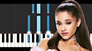 Ariana Grande - Breathin (Piano Tutorial)