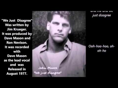 "THROWBACK THURSDAY SONG #1 ""WE JUST DISAGREE""   - JOHN MOORE COVER KARAOKE"