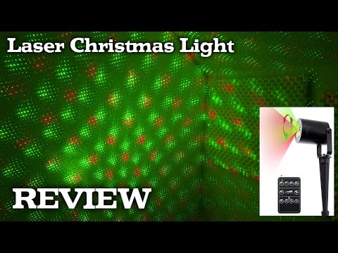 Laser Light Projector for Christmas - Holidays Decorations REVIEW