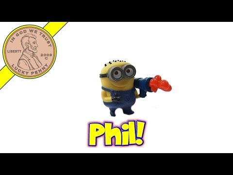 Phil Jelly Whistle #2 Despicable Me 2 - 2013 McDonald