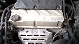 Двигател за Mitsubishi Outlander 2.4, 160 к.с., 2004 г. code: 4G69